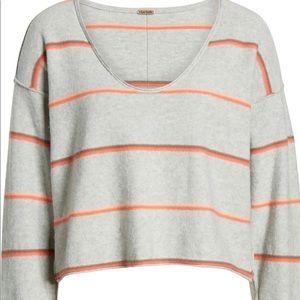 Free People Stripe Sweater NWT